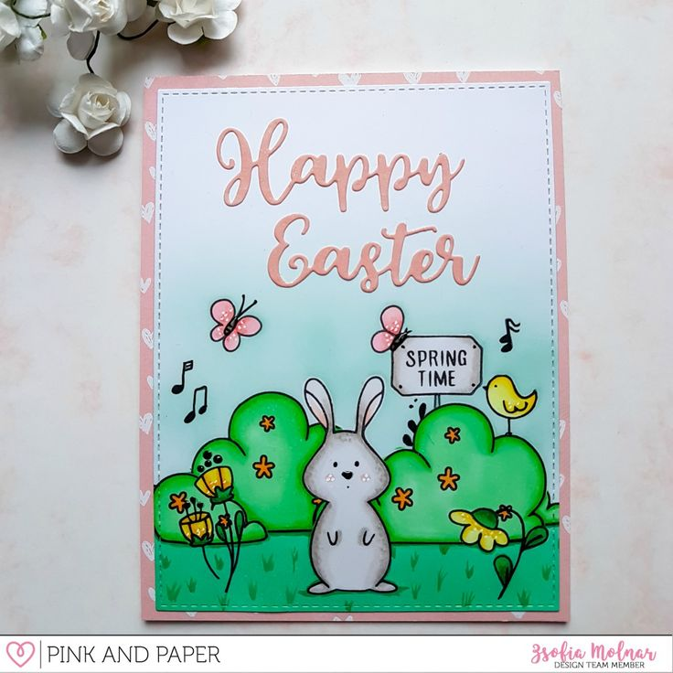 Happy Easter March Card Kit Extra | Zsofia Molnar