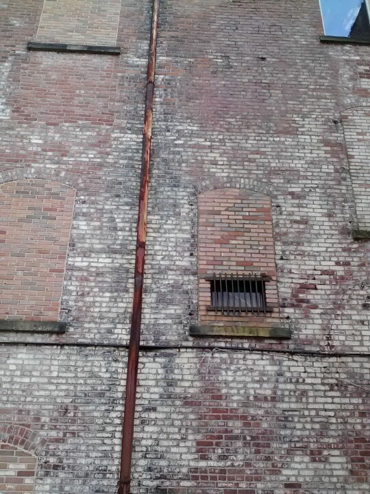 Akron Ohio brick wall