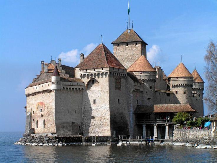 Le château de Chillon, en Suisse