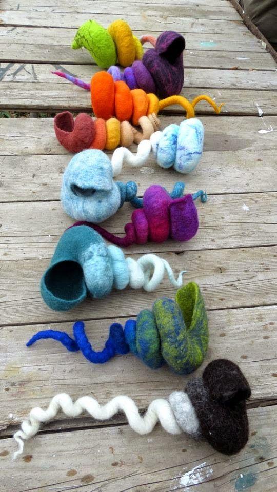 Fibre and Textile Art Felting
