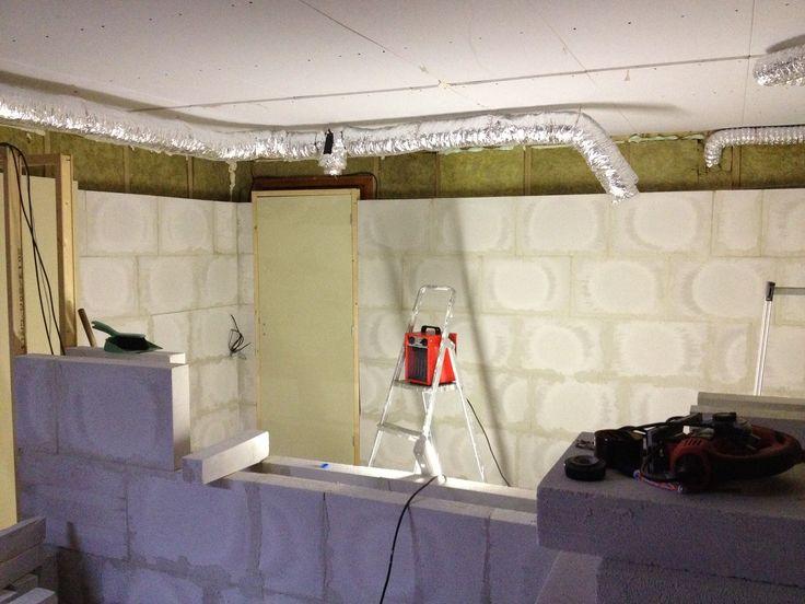 New studio under construction.
