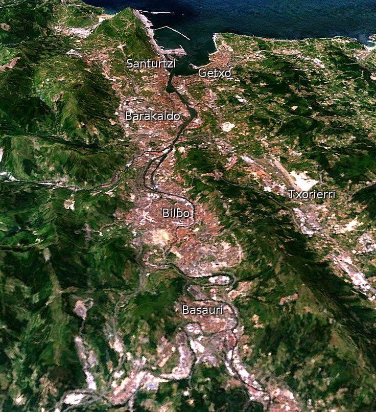 Bilbo Handia the metropolitan area of Bilbao