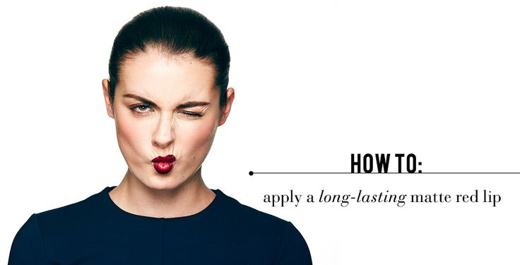How to apply step by step lipstick that will last you through dinner.