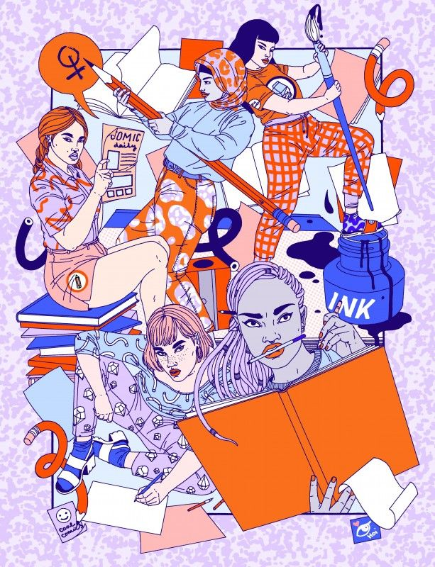 Comix Creatrix: 100 Women Making Comics until 15th May