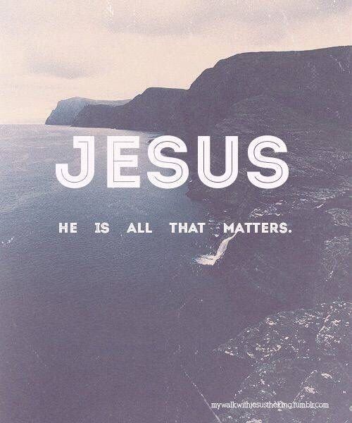 Jesus is my savior