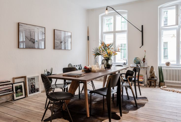 The Apartment — Freunde von Freunden Collection of black chairs
