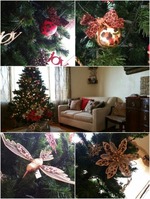 Cheetah Christmas, Cheetah Christmas Tree, Cheetah Christmas Decorations, Cheetah  Living Room, Cheetah