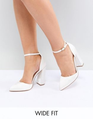Wide 2019Wedding Heels High Fit Pebble In Bridal Pointed Design tCsdhQr