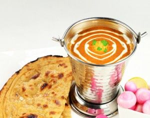 Try the divine combination of a stuffed kulcha   with Dal Makhani @ Ace of Flames  Read more about the place on: http://bit.ly/1yUMWPB