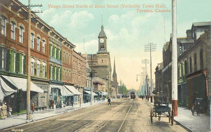 Yonge and Yorkville 1910