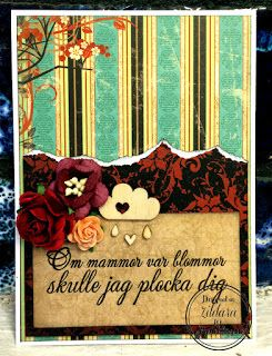 Pysseldags: Mors dag - uppvakta en mamma Mother's Day card by Zildara