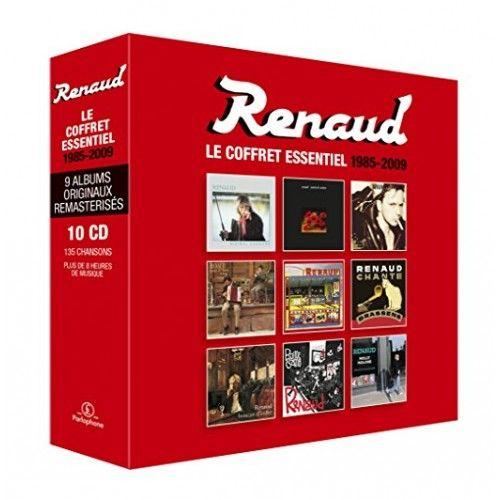 Le Coffret integral 10 CD 1985-2009: Renaud: Amazon.fr: Musique