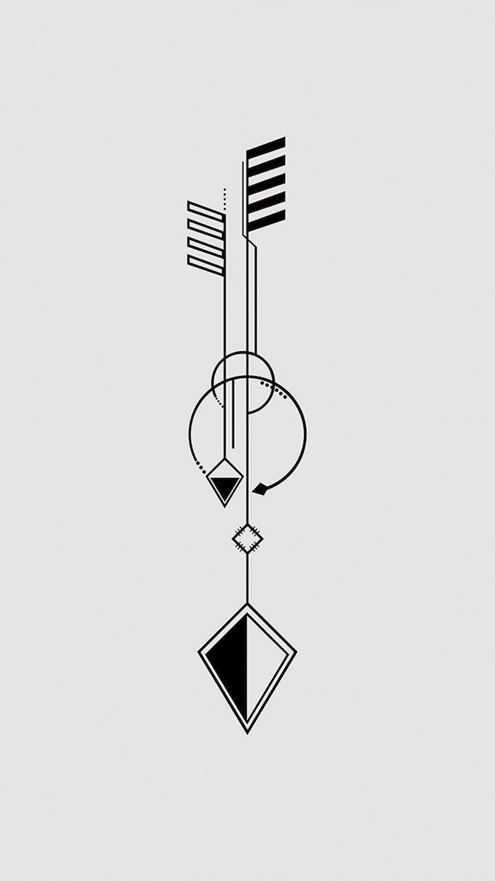 Geometrische Tattoos Und Ihre Bedeutung Archzinenet