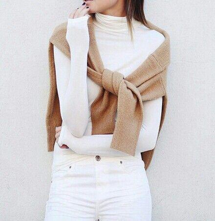 white + tan