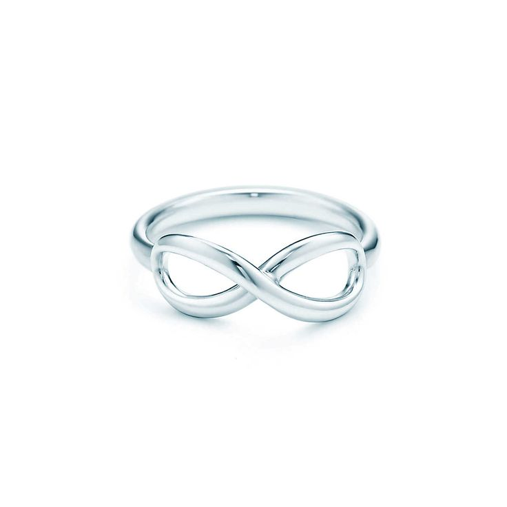 (If I can't get the gold one or the silver with diamonds) Tiffany Infinity:Ring