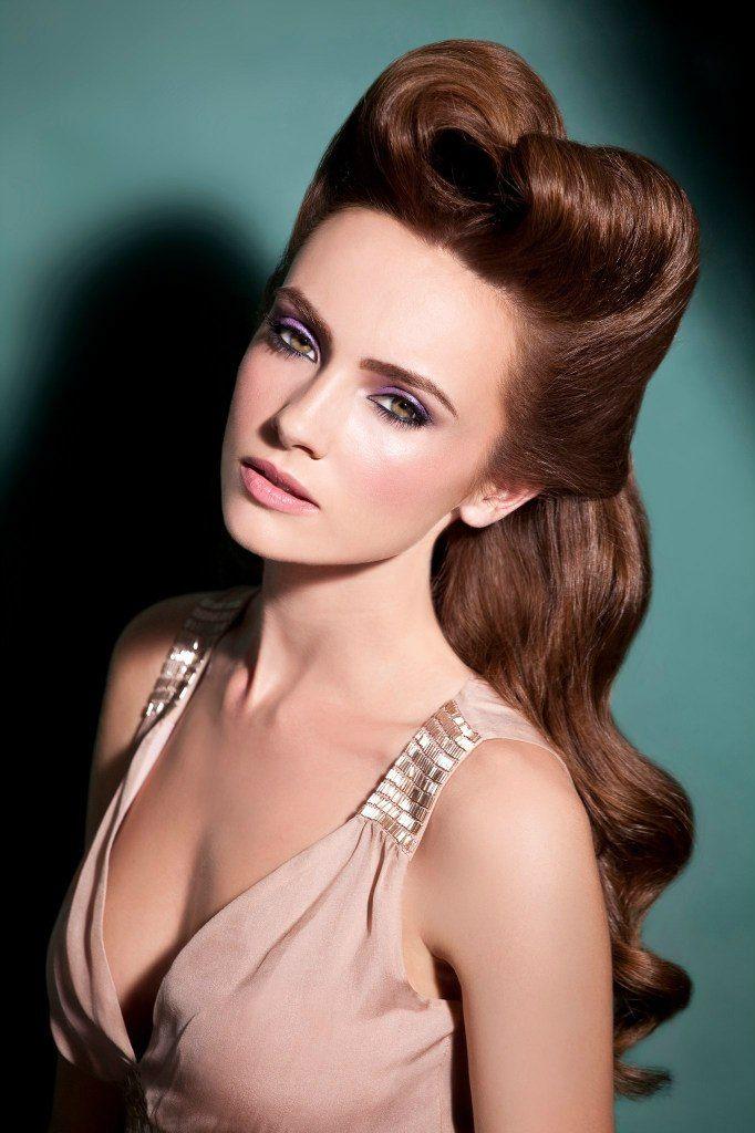 hair & make- vintage