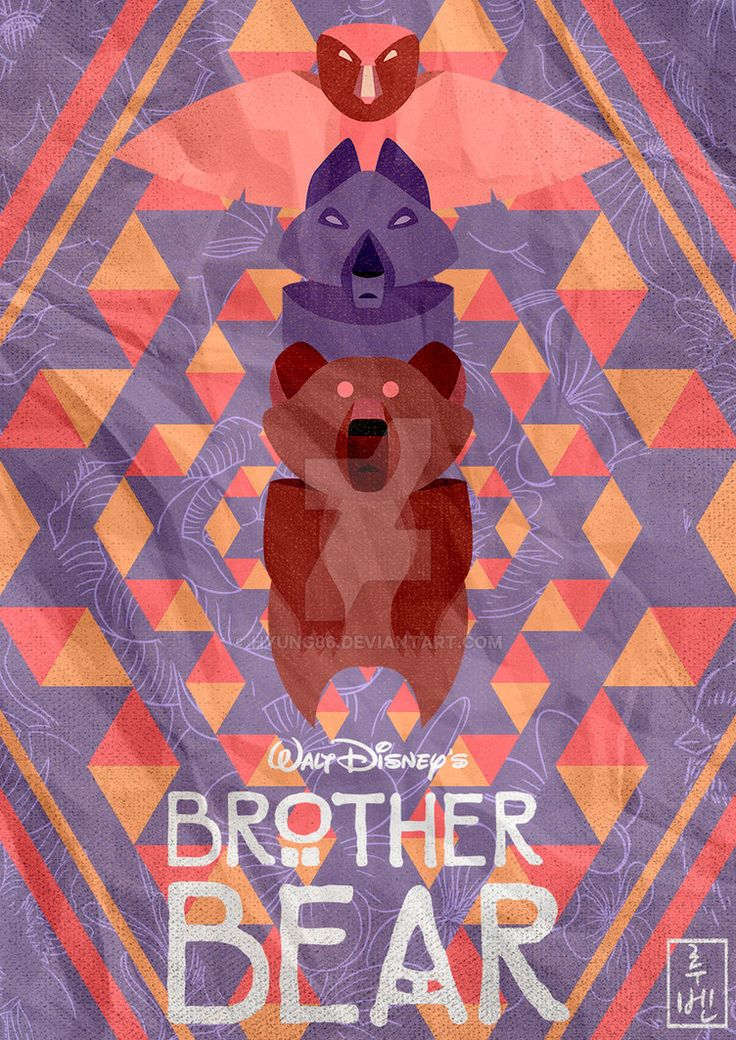 Disney Classics 44 Brother Bear by Hyung86 on DeviantArt