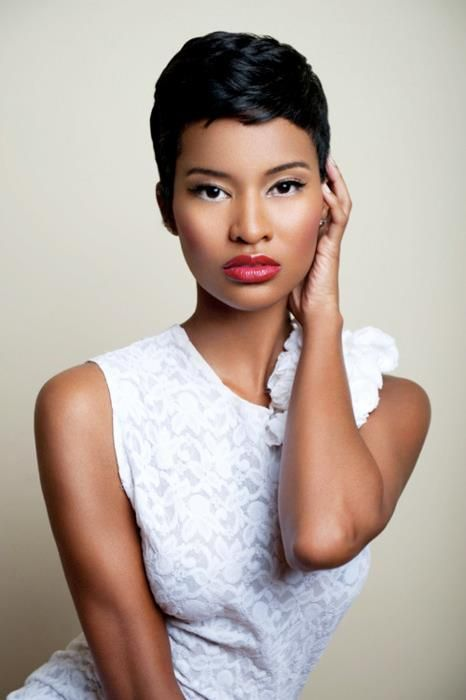 black women and sophisticated hair styles
