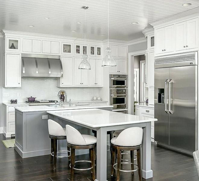 Kitchen Island Ideas With Seating: T Shaped Kitchen Island Kitchen T Shaped Island Kitchen