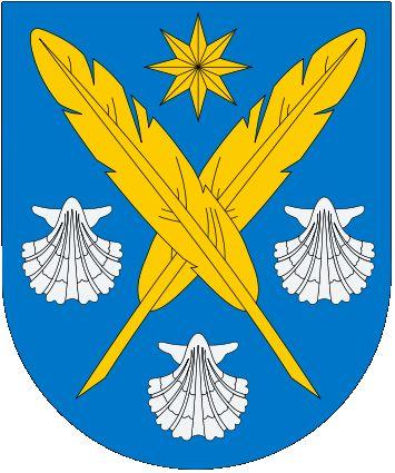 Camilo Jose Cela Trulock, Marquess of Iria Flavia, Coat of Arms