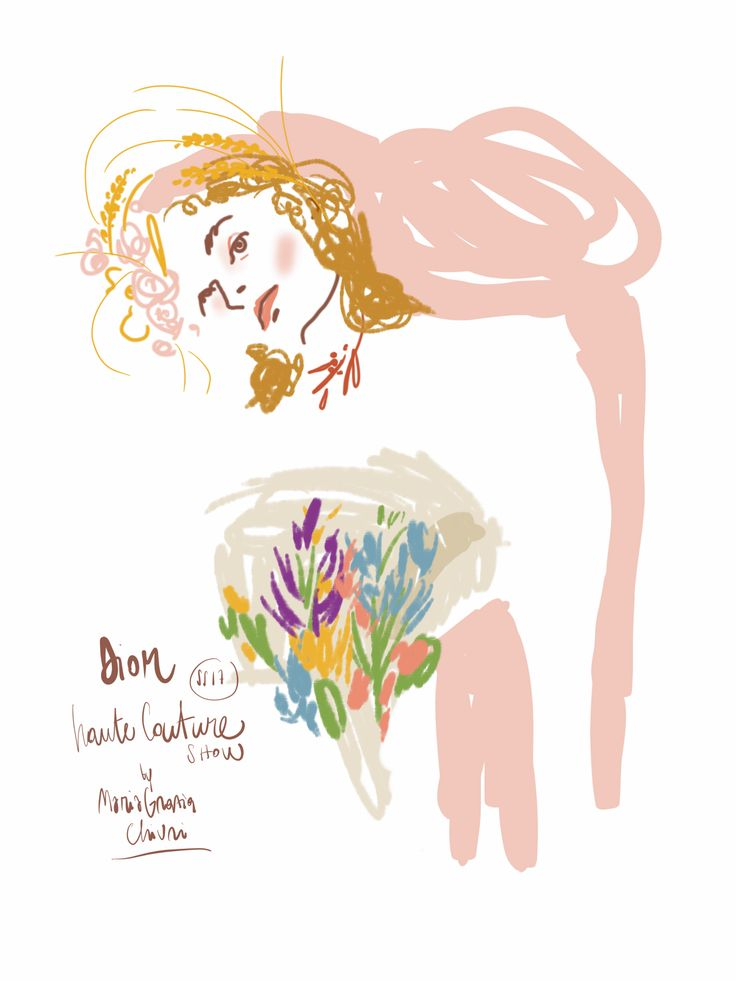 Dior HC17, Open Toe Illustration