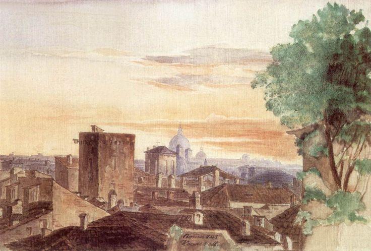 Róma alkonyatkor 1843.jpg (1228×831)