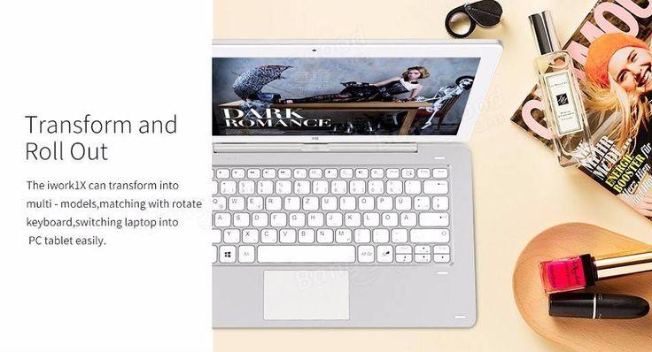 Cube iWork1X 64GB Intel Atom X5 Z8350 Quad Core 11.6 Inch Dual OS Tablet