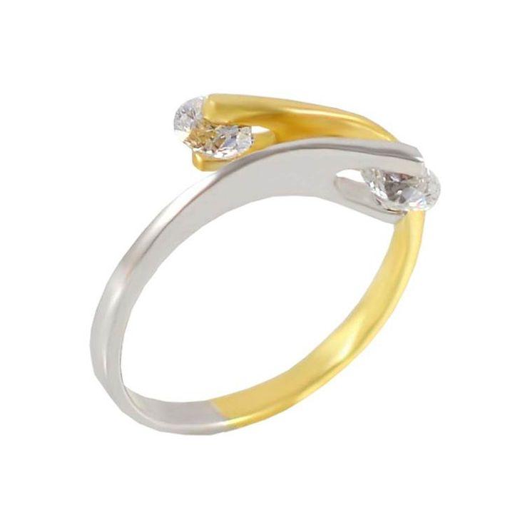 Δ598P -Χρυσό δαχτυλίδι