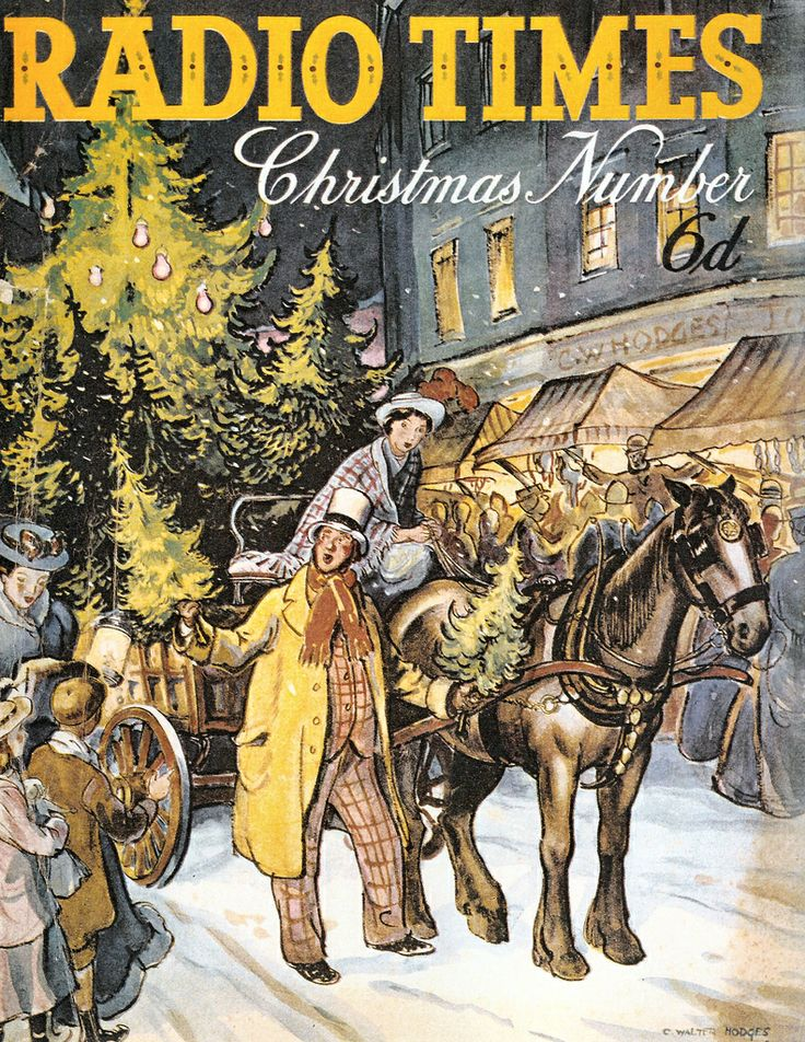 Vintage Magazine Cover - Radio Times (British) Christmas Number