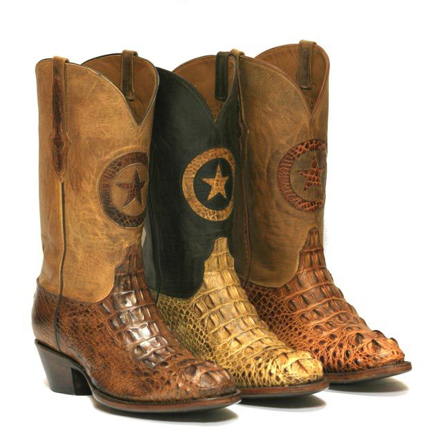 Top of the Line Alligator Cowboy Boots from Black Jack - Mens Exotic Western Boots