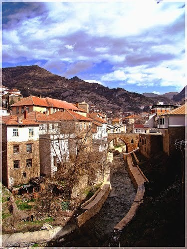 """""""Visit the town of Kratovo, situated around an old volcanic crater, for its rock art and volcanic droplets."""" Macedonia: the Bradt Guide; www.bradtguides.com"""