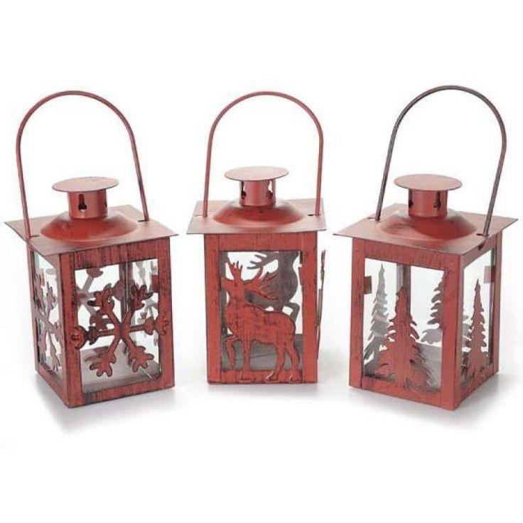 Lanterne natalizie - Lanterne rosse