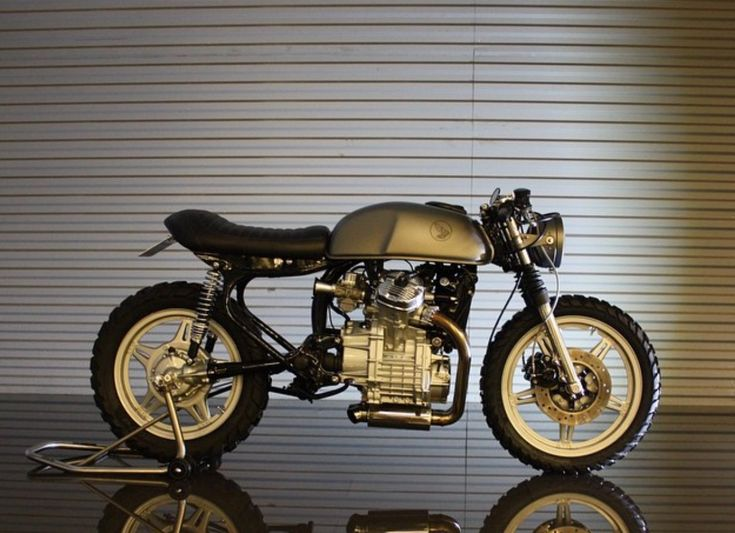 """Here we have one of the prettiest Honda CX500 customs ever, built by Lars Engelviken of Norway's Therapy Moto. The """"Poor Man's Guzzi"""" is a tough bike to turn pretty, but Lars managed just that. [...]"""