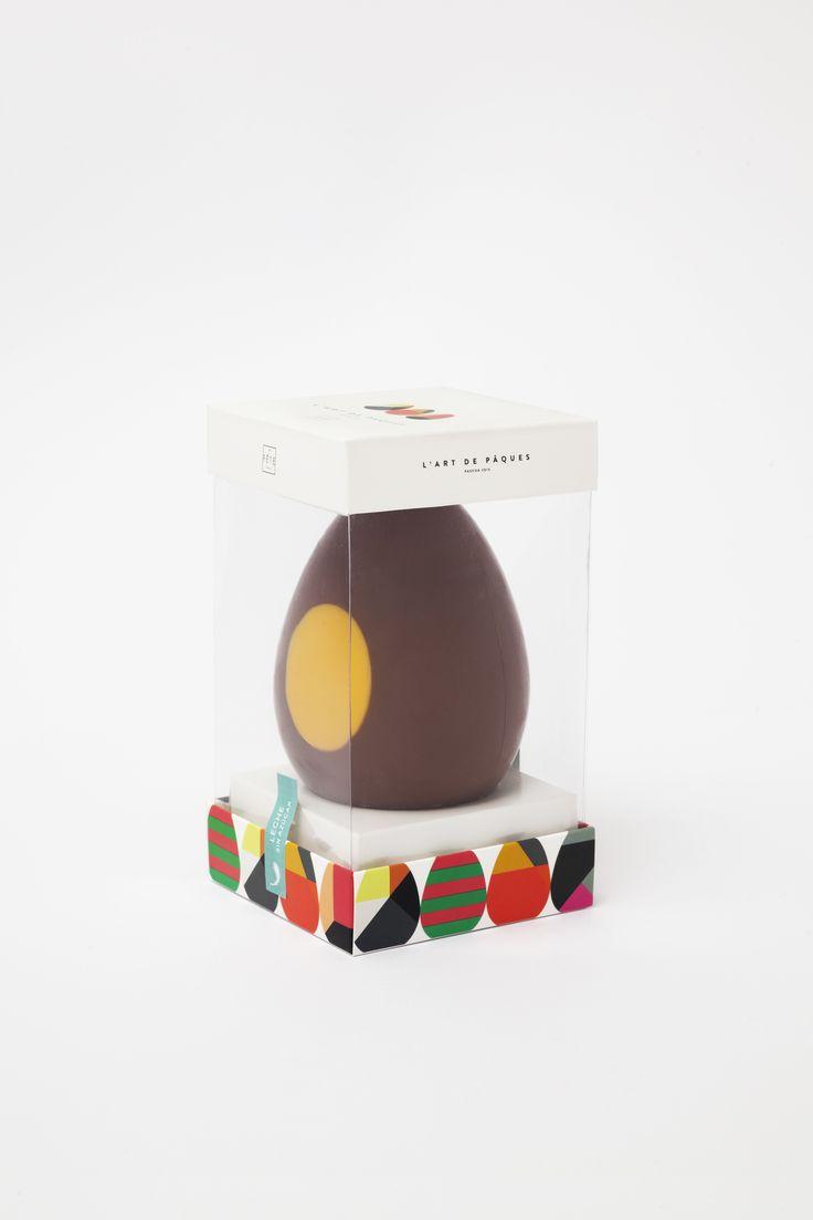 Los amantes del mejor chocolate con leche  pueden deleitarse con l`art de Pâques. Huevo de 160 grs. aroma y sabor, intenso y puro.