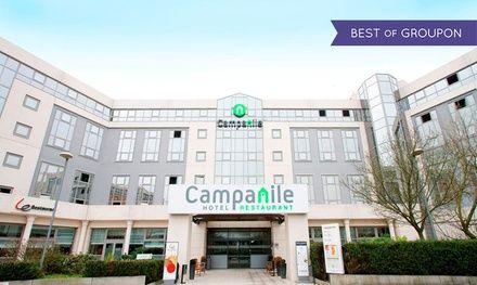 Hôtel Restaurant Campanile Roissy à Roissy En France : 1 nuit avec parking et navette à l'aéroport de Roissy CDG Paris: #ROISSYENFRANCE…