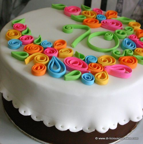 Cake Decorating Quilling : 17 Best ideas about Quilling Cake on Pinterest Amazing ...