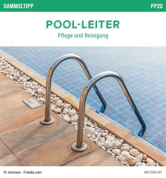 POOLSANA Sammeltipp Nr. 54: Pool-Leiter - Pflege und Reinigung #poolleiter #swimmingpool #schwimmbecken #wasserpflege #tipps