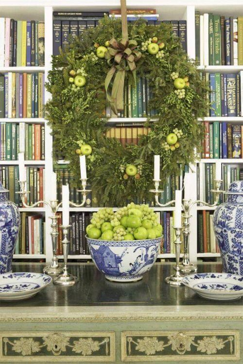 Green Apples ~ Green Grapes ~ Blue And White...........