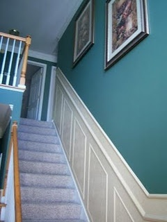 Faux Carved Wainscoting