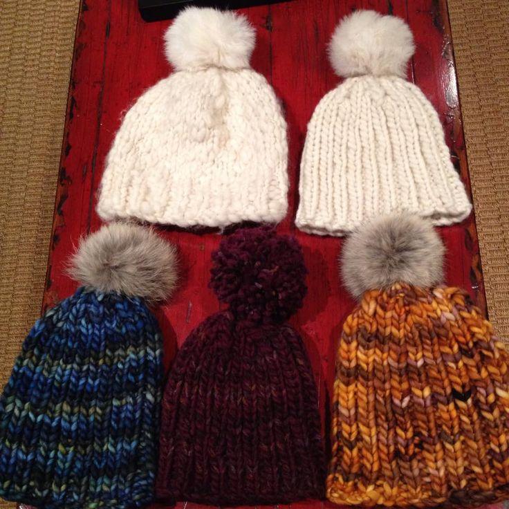 Knitting Rib Stitch On Circular Needles : Hats made with malabrigo rasta yarn pattern on mm round