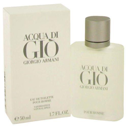 Acqua Di Gio By Giorgio Armani For Men Eau De Toilette Spray 1.7oz New Sealed #GiorgioArmani