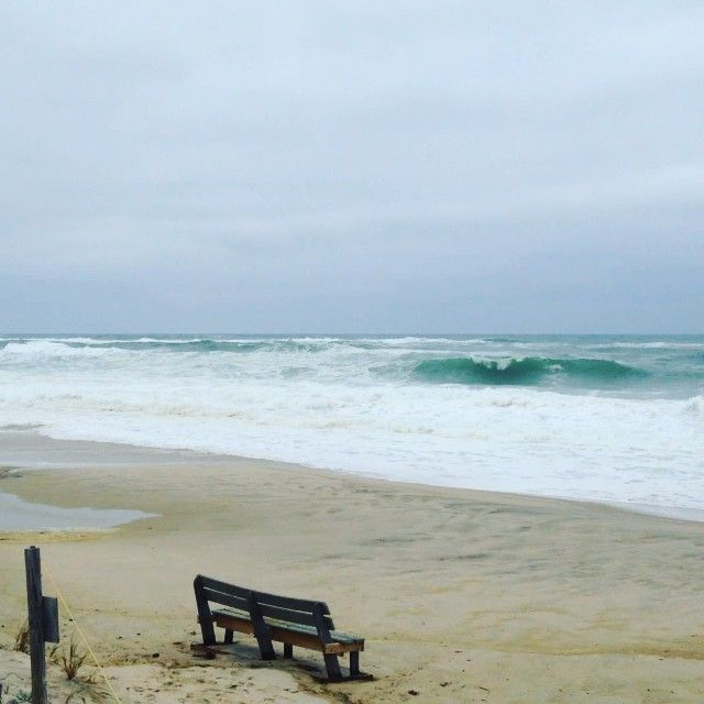 BIG Surf At #NausetBeach This Morning! #Orleans #capecod