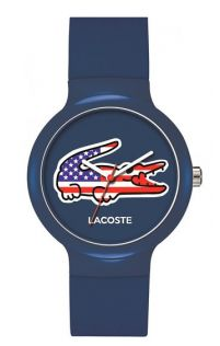 Lacoste 2020073 GOA Blue Dial Silicone Strap Unisex Watch