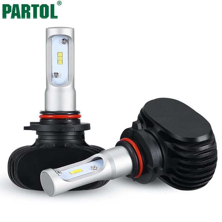 Partol 9005/HB3 LED Car Headlight Bulbs 50W 8000LM CREE Chips CSP LED Headlights All in one Automobile Headlamp Front Light 12V