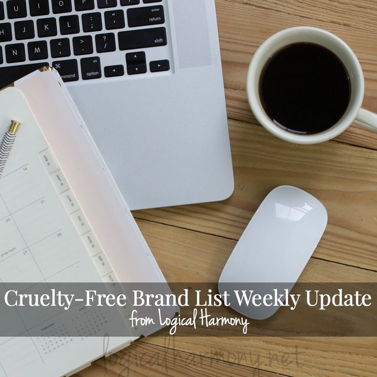 The Cruelty Free Brand list on Logical Harmony is updated weekly. Stay up to date on the brands you can trust to be cruelty free with vegan options!