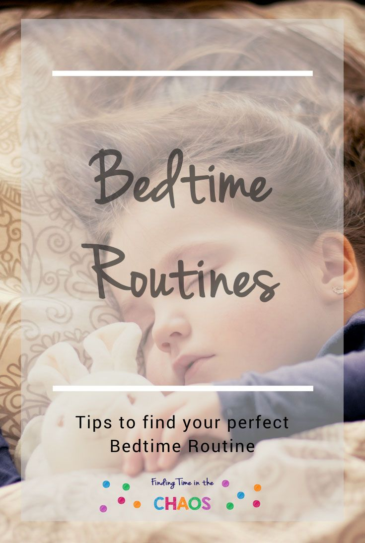 Need help with your kids bedtime routine? Here are some tips to help you find the perfect bedtime routine.