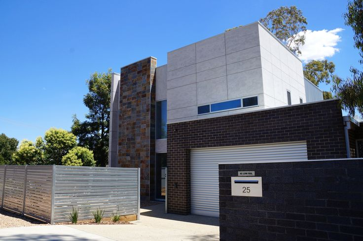 BareStone Cladding is featured on a residential application in VIC. Creating a very modern look.