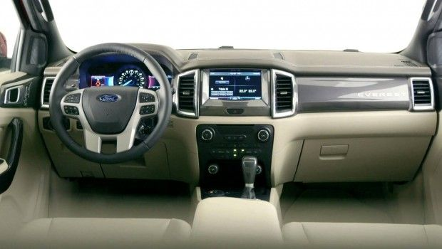 2015 Ford Everest interior design