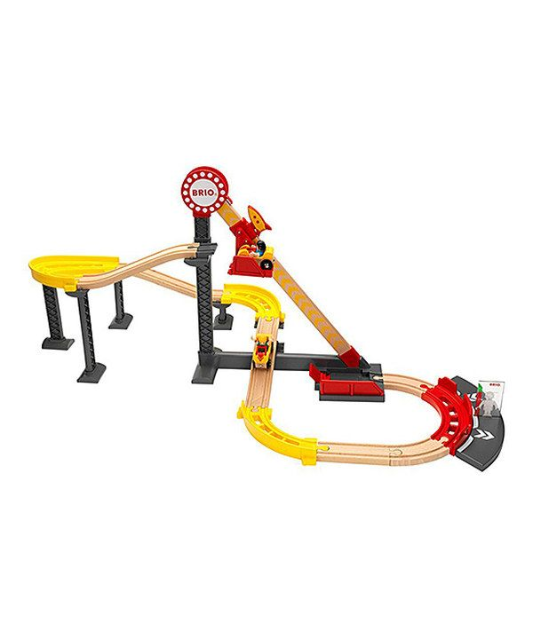Look at this Wood Roller Coaster Toy Set on #zulily today!