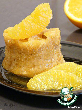 Апельсиновый пудинг - кулинарный рецепт